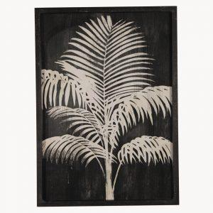 Framed Midnight Palm Wall Art