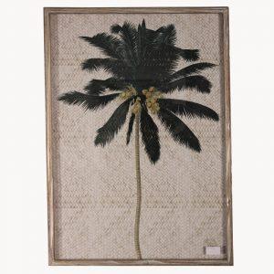 Framed Kew Gardens Tropical Print B