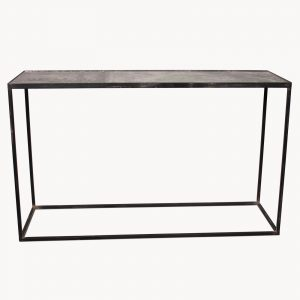 Kew Gardens Antique Fern Glass Console Table