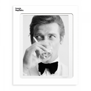 Roger Moore Photographic Print 30x40cm