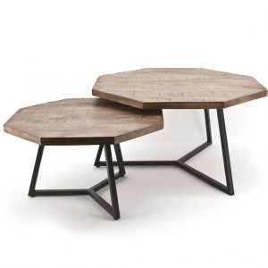 Coffee Table Set of Two