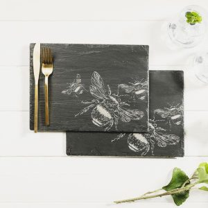 2 Bee Place Mat Set
