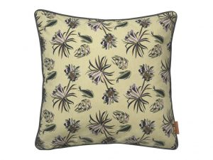 Army Palm Flower Square Cushion