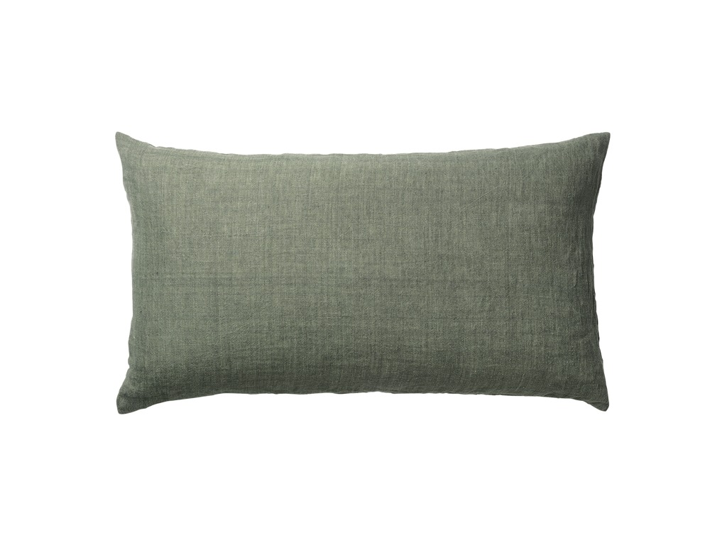 Army Green Linen Gable Cushion