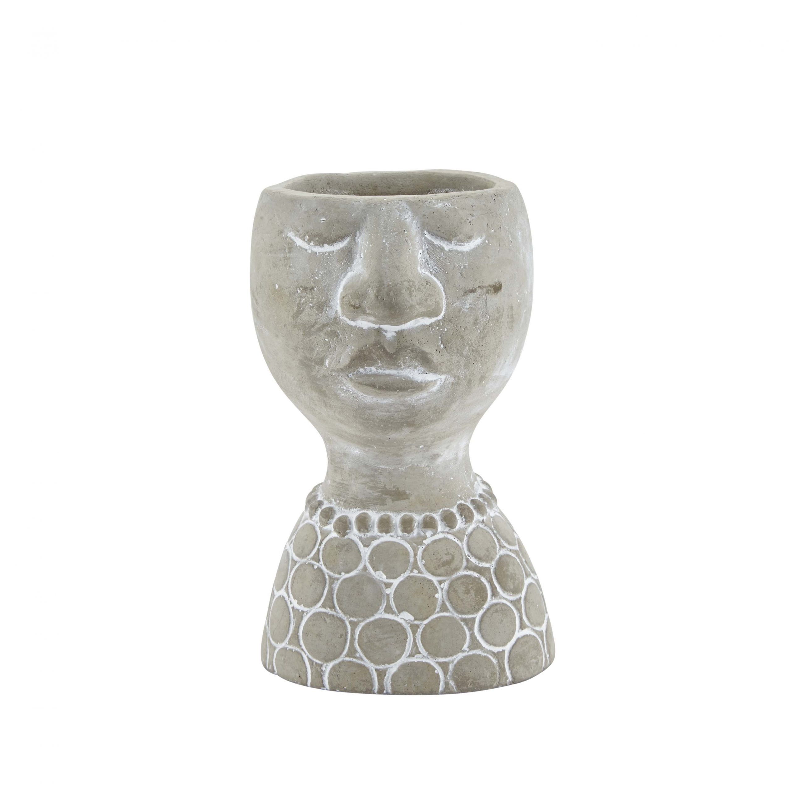 Vase with Face Closed Eyes