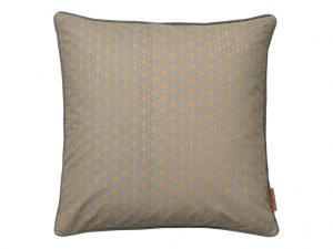 Mud Allium Square Cushion