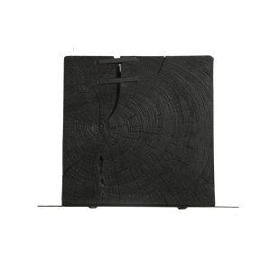 Black Plaque and Shelf