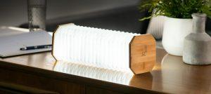Smart Accordion Lamp Bamboo