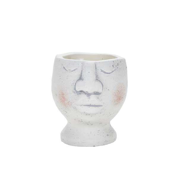 Large Flower Pot Head