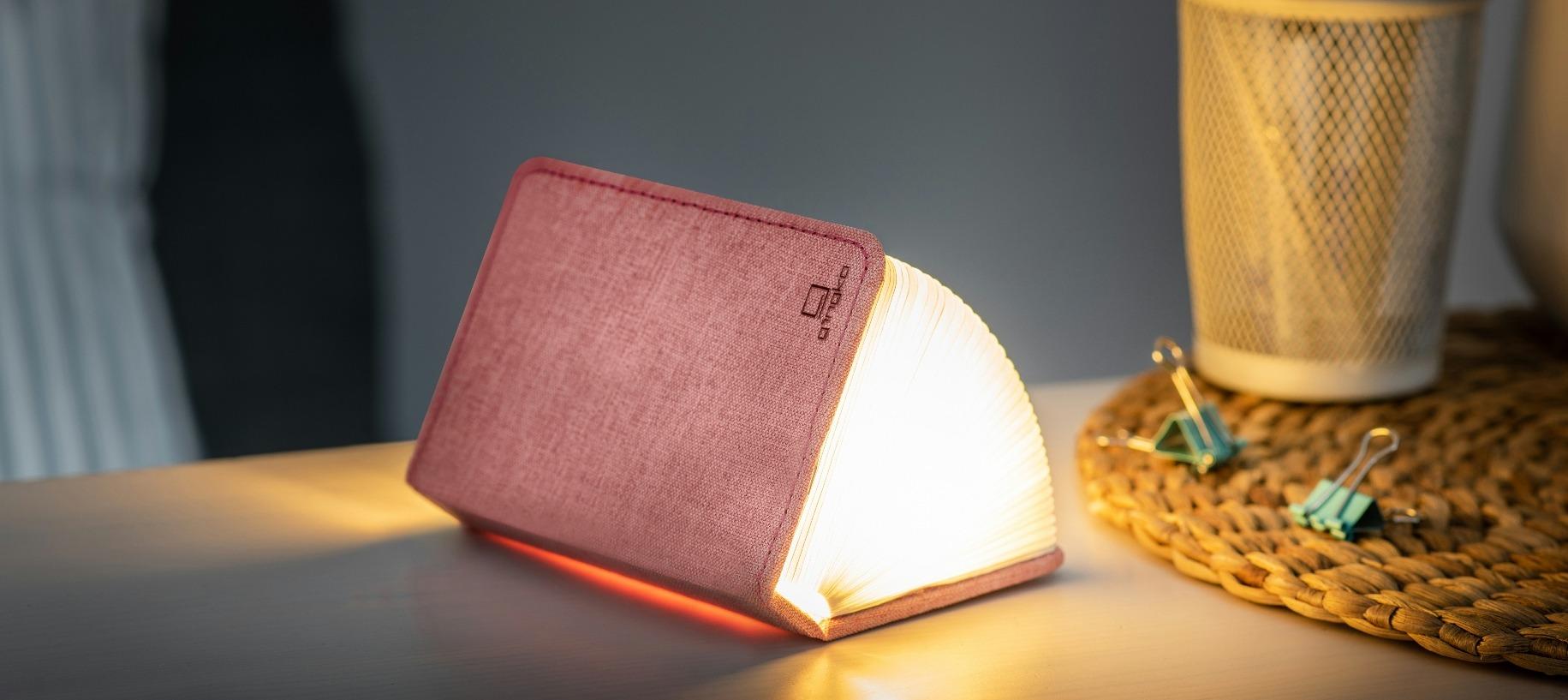 Mini LED Smart Book Blush Pink