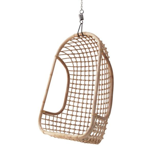 Natural Hanging Rattan Chair