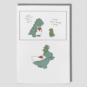 Greetings Card Super Dad