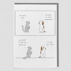 Greetings Card Ducks