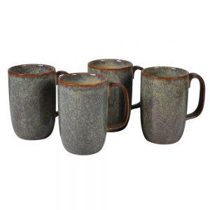 Single Earthy Ceramic Mug