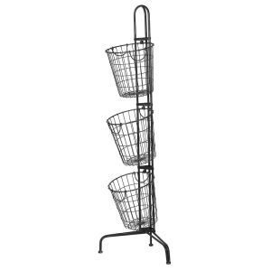 3 Tier Wire Basket Stand