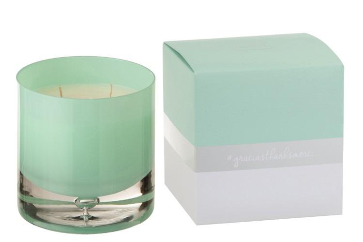 Large Aqua Scented Candle