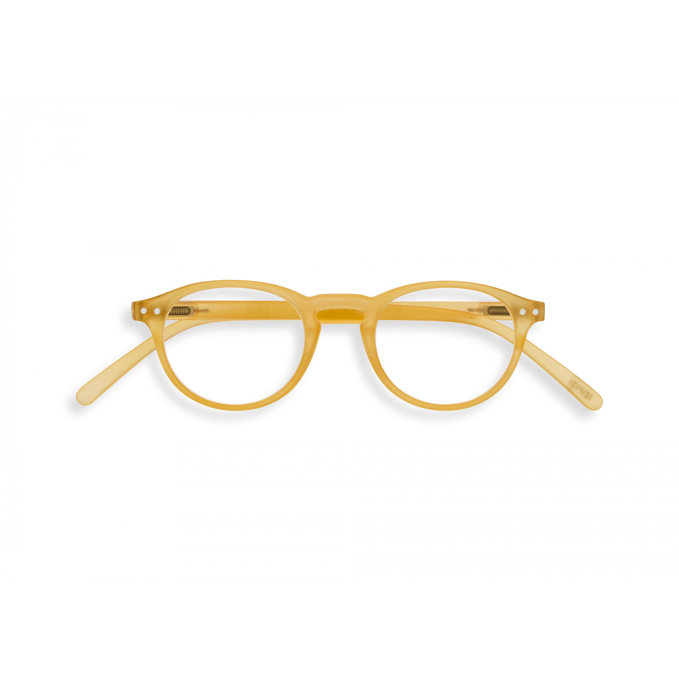 Izipizi #A Reading Glasses (Spectacles) in Yellow Honey