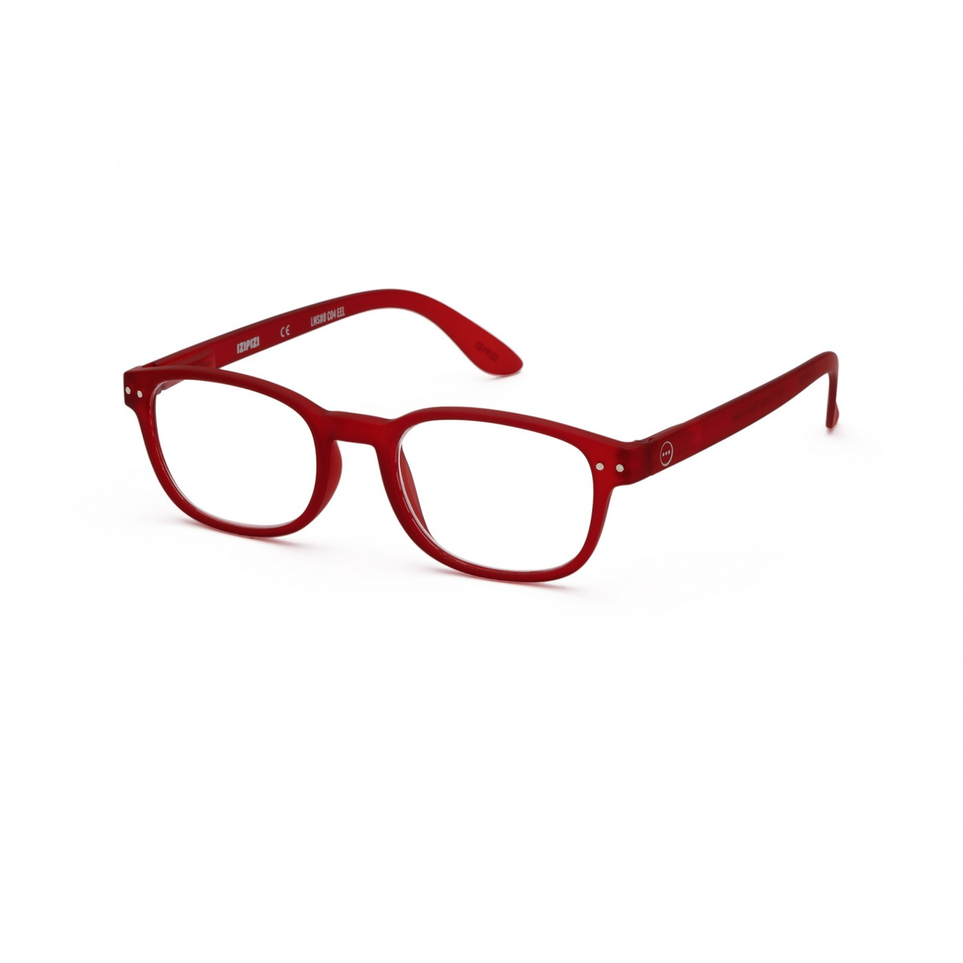 Izipizi #B Reading Glasses (Spectacles) in Red Crystal