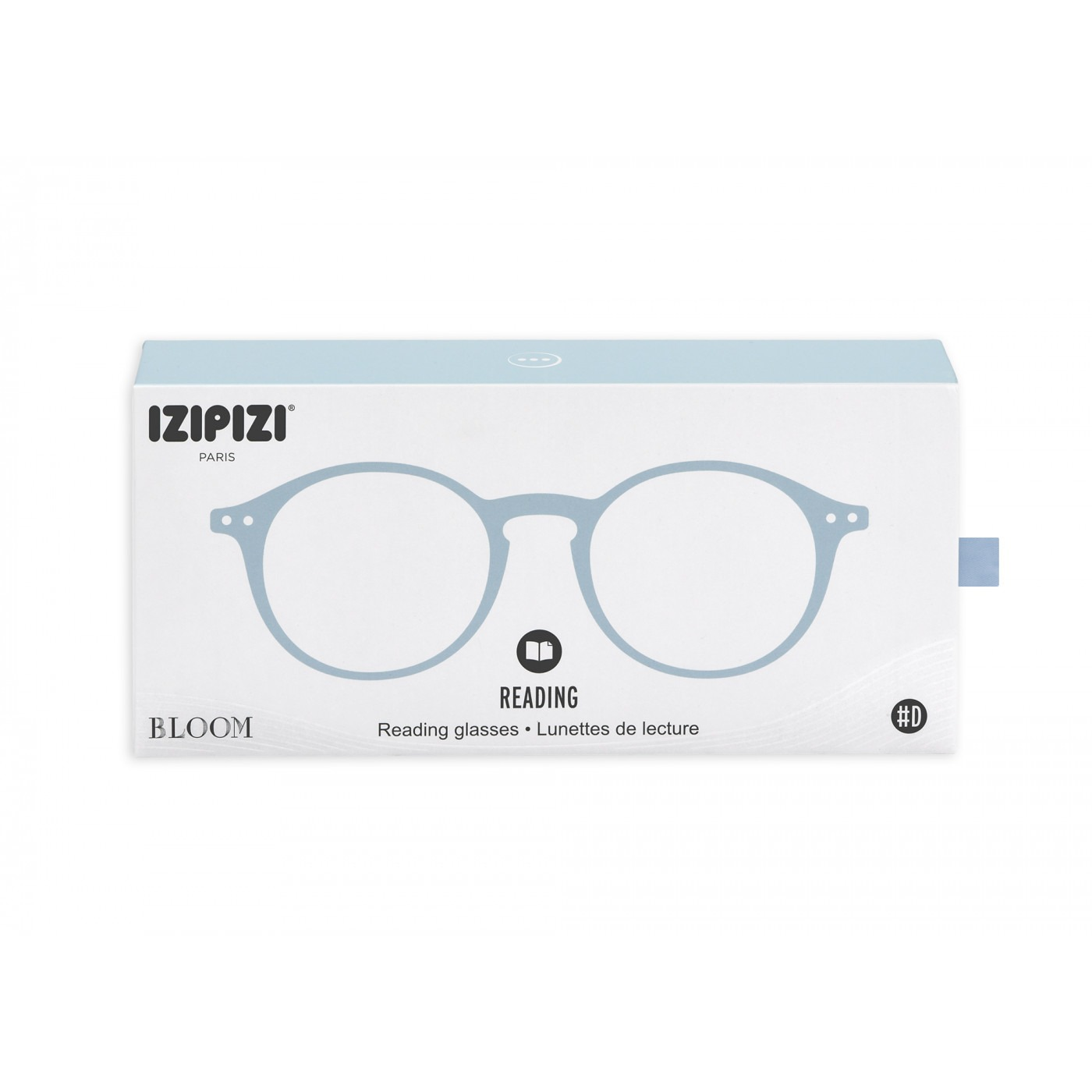 Izipizi #D Reading Glasses (Spectacles) in Aery Blue