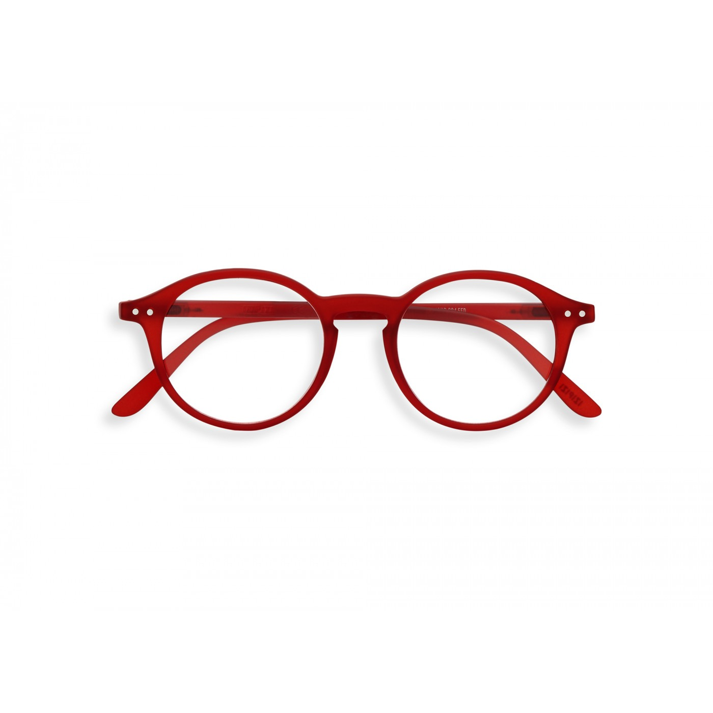 Izipizi #D Reading Glasses (Spectacles) in Red Crystal