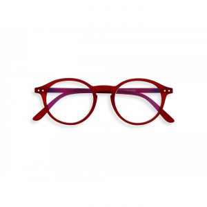 Izipizi #D Screen Protection Reading Glasses in Red Crystal