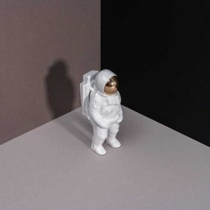 Astronaut Bottle Opener White