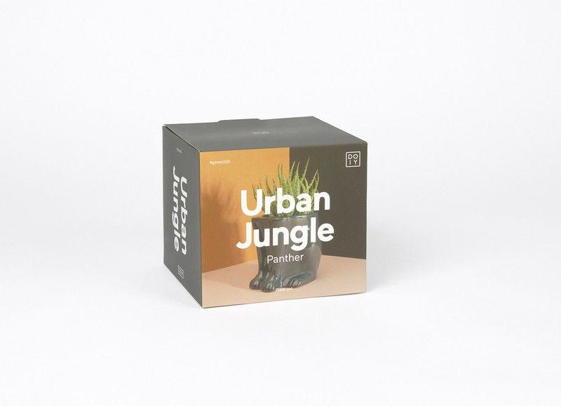 Urban Jungle Plant Pot Panther