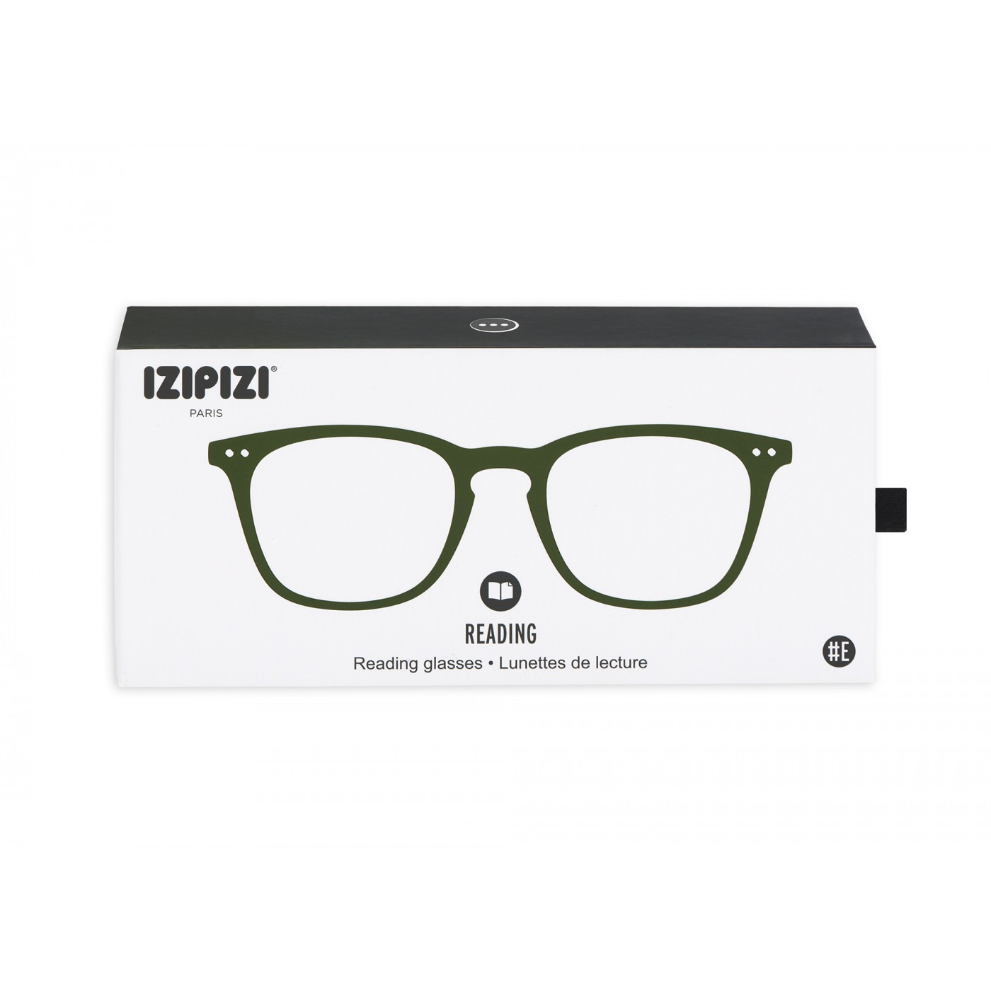 Izipizi #E Reading Glasses (Spectacles) in Green Crystal