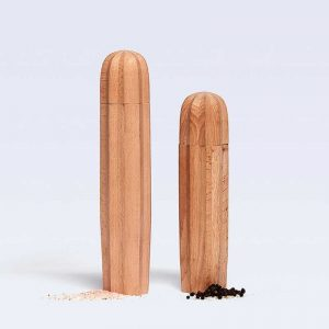 Natural Wood Cacti Salt & Pepper Set