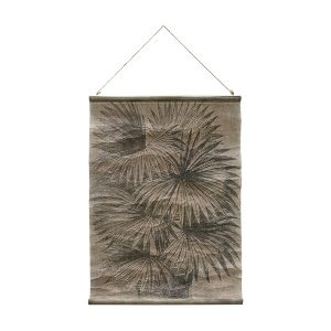 Wall Chart with a Palm Design