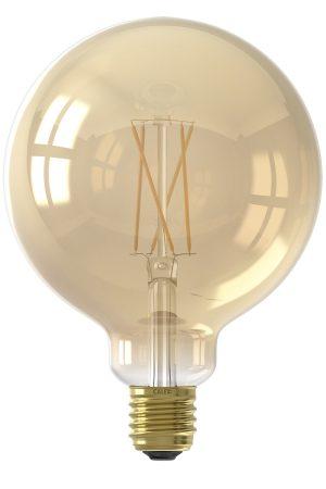 Calex Smart Globe Filament LED Bulb Gold