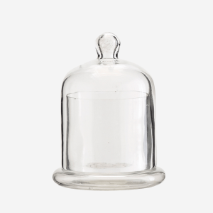 Small Glass Votive with Dome