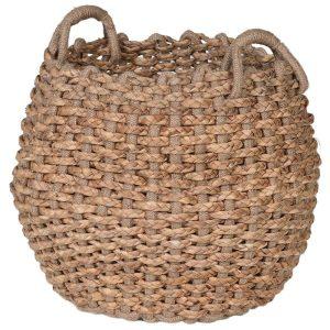 Hyacinth Basket With Jute