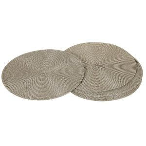 Round Biscuit Place Mat