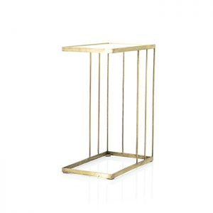 Caesar Brass & Glass Sofa Table
