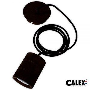 Calex Giant Black Pendant E40 Cord