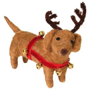 Buddy Reindeer Dog Decoration