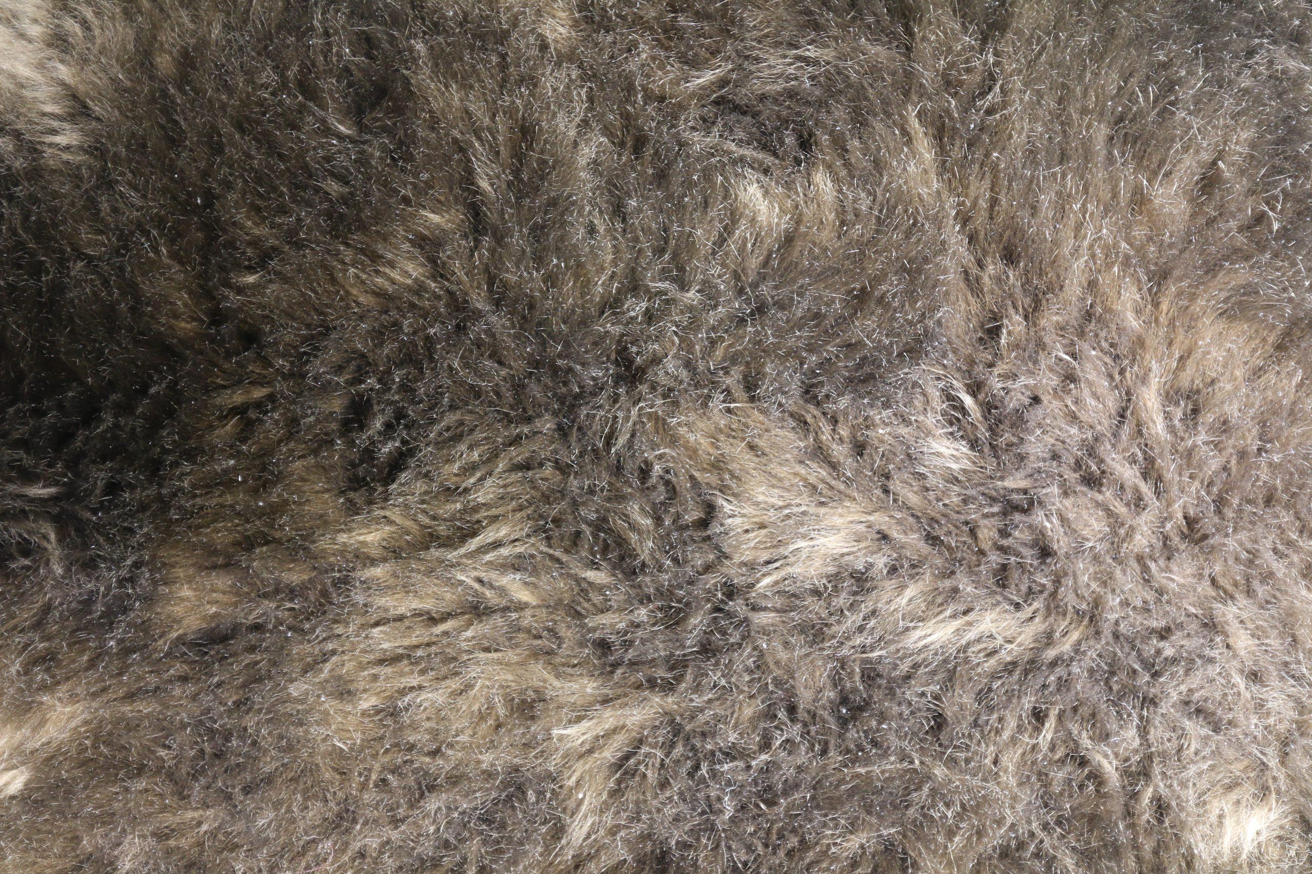 Silky Sheepskin Rug Mole Large
