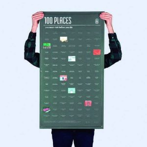 Poster - 100 Places You Must Visit Before You Die