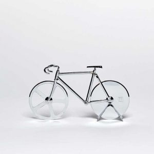 Pizza Cutter - The Fixie Silver