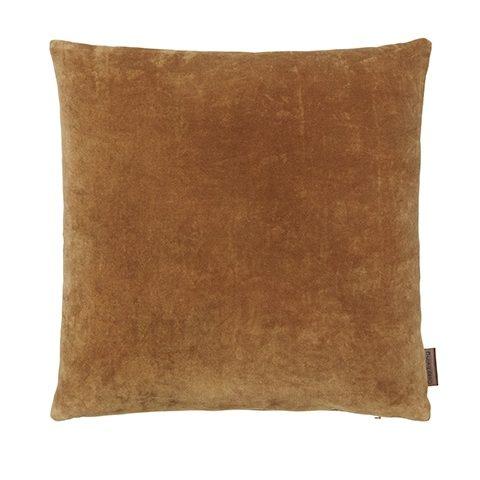 Velvet Cushion-Cumin
