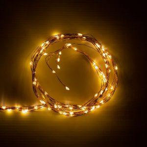 50 Amber Multi functional Dew Drop Lights