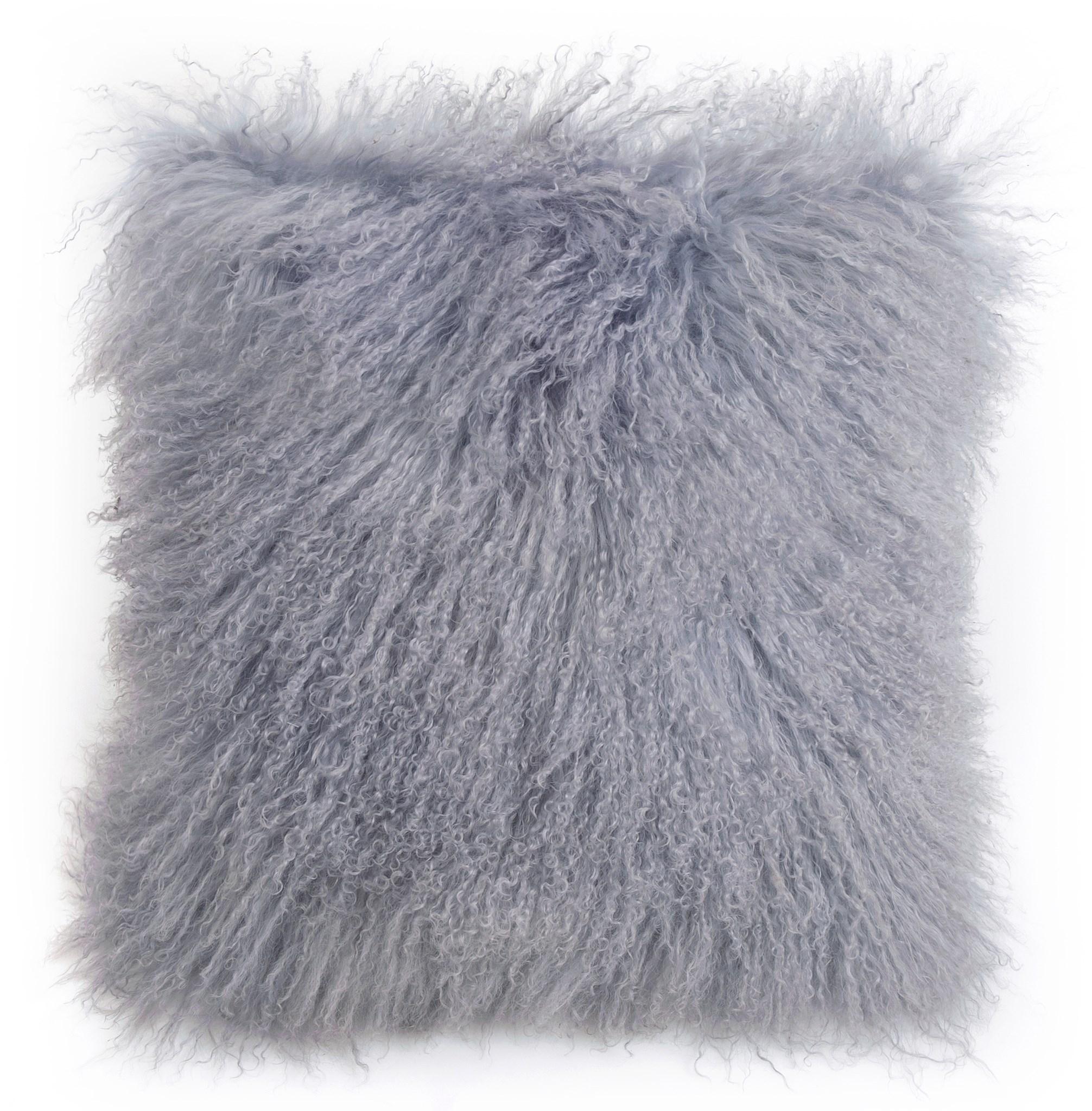 Tibetan Sheepskin Cushion Dove
