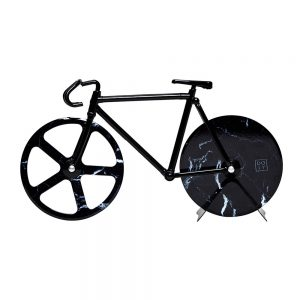 Fixie Bicycle Pizza Cutter - Black