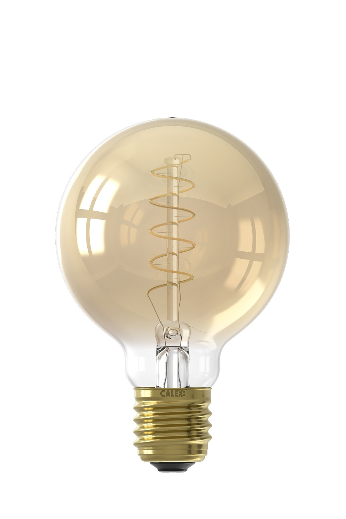 Calex E27 LED Spiral G80 Globe Bulb (Dimmable)