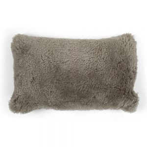 Beige Sheepskin Cushion
