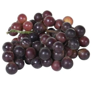 Faux Bunch of Red Grapes