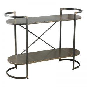 Moza Metal Open Cabinet