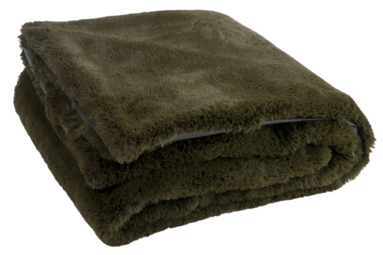 Polyester Green Blanket