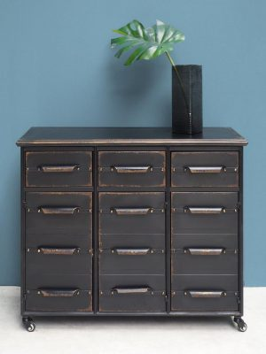 Metal Chest of Drawers